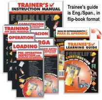 Forklift Construction Compliance Kit - DVD