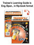 Forklift Construction Extra Materials Kit - English / Spanish
